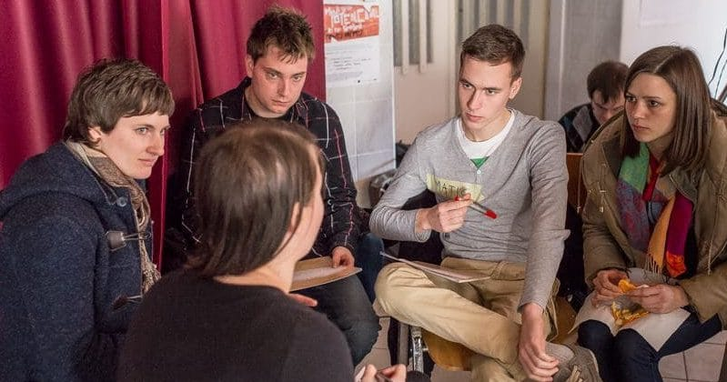 Dialog mladih - foto Marko Čuk
