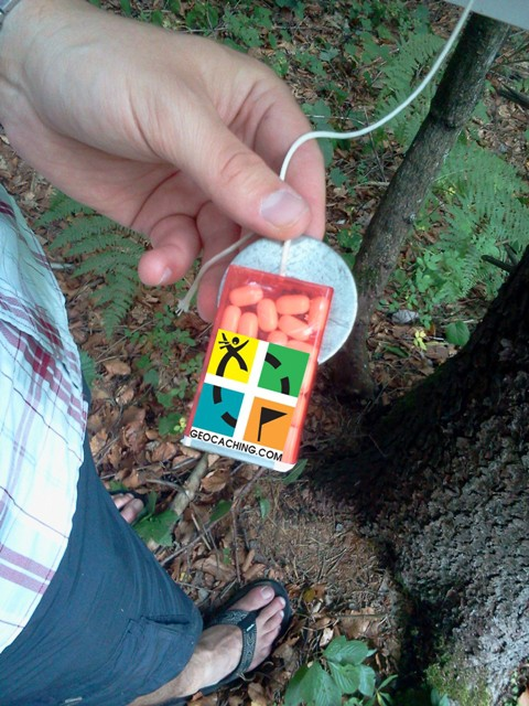 Geocaching - activities